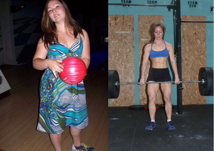 0eb6cf1e140 CrossFit et perte de poids (Avant Après de Laetitia)